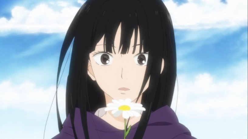 Black haired anime girls — photo 3