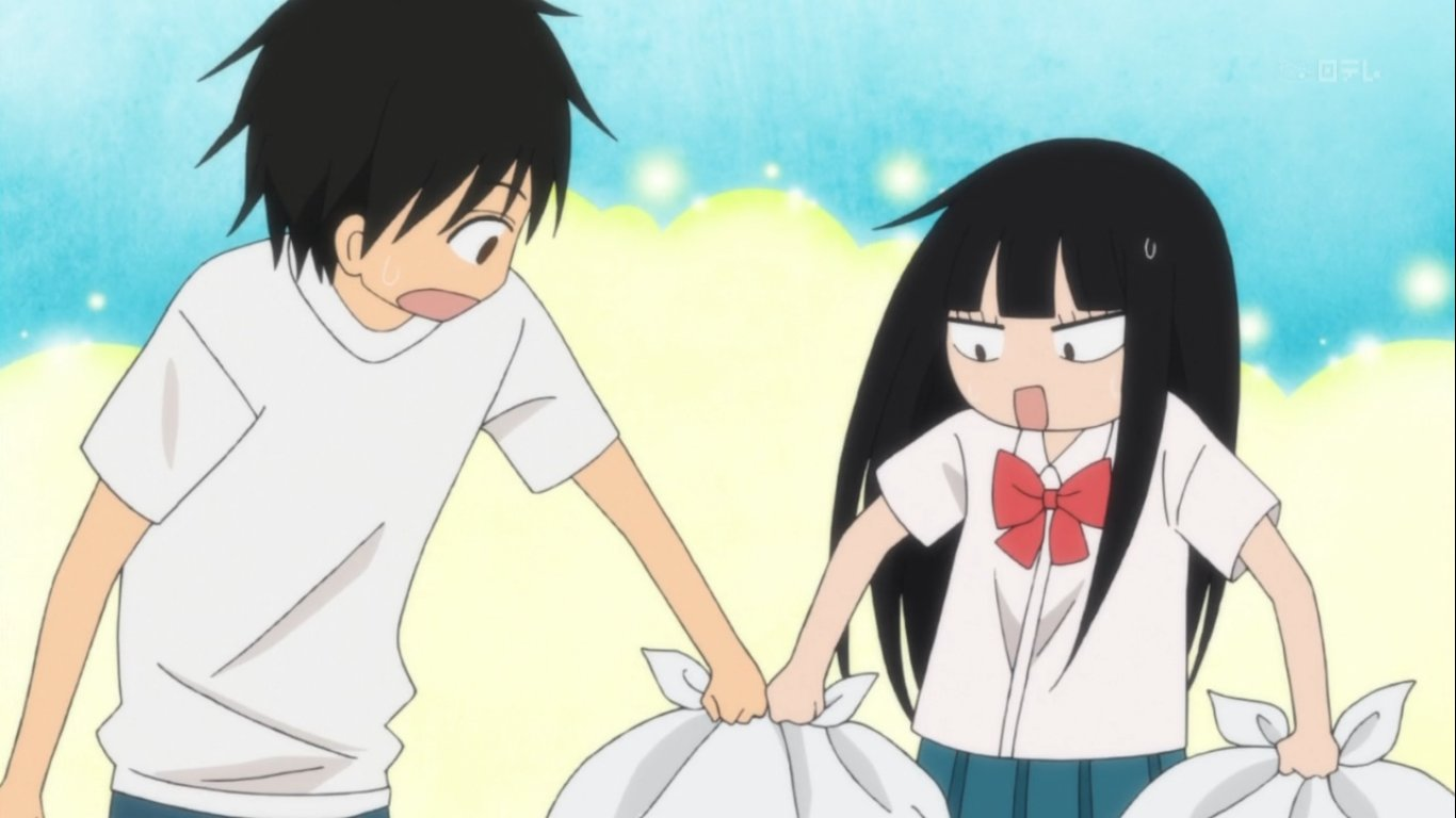 Anime where the girl cant make up her mind about dating