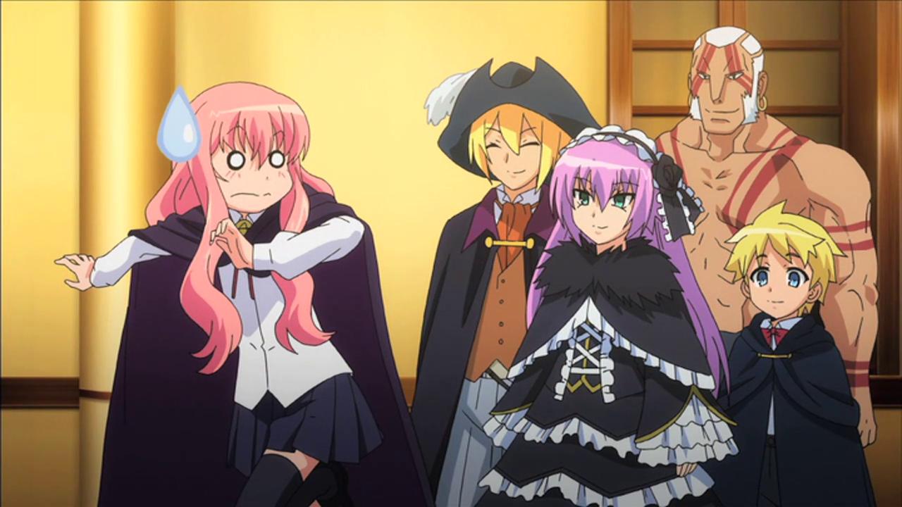 Zero No Tsukaima F Episode 11 Lura S Anime Blog