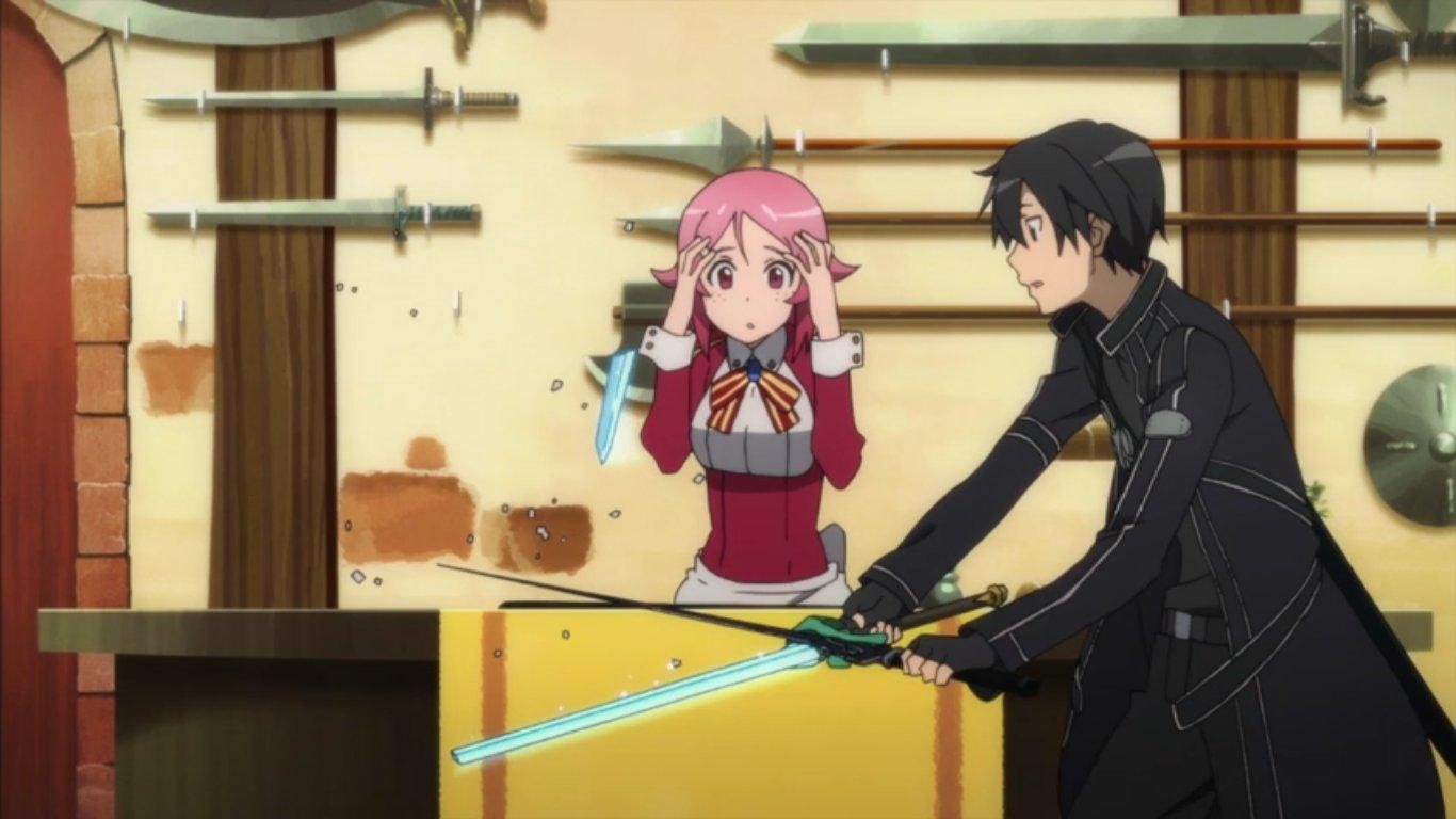 sword art online episode 7 lura 39 s anime blog. Black Bedroom Furniture Sets. Home Design Ideas