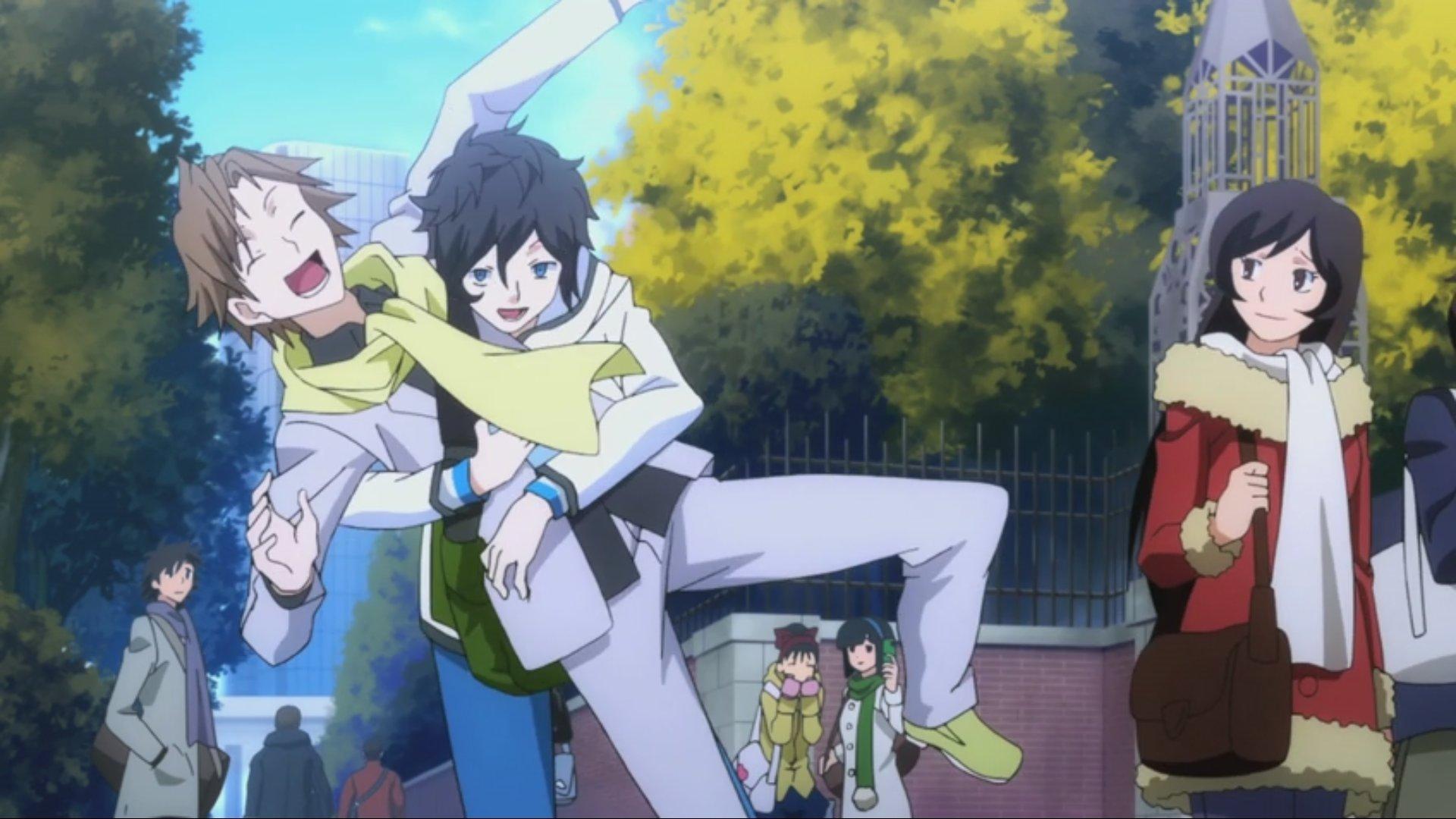 Devil Survivor 2 Anime Characters : Devil survivor the animation episode lura s anime