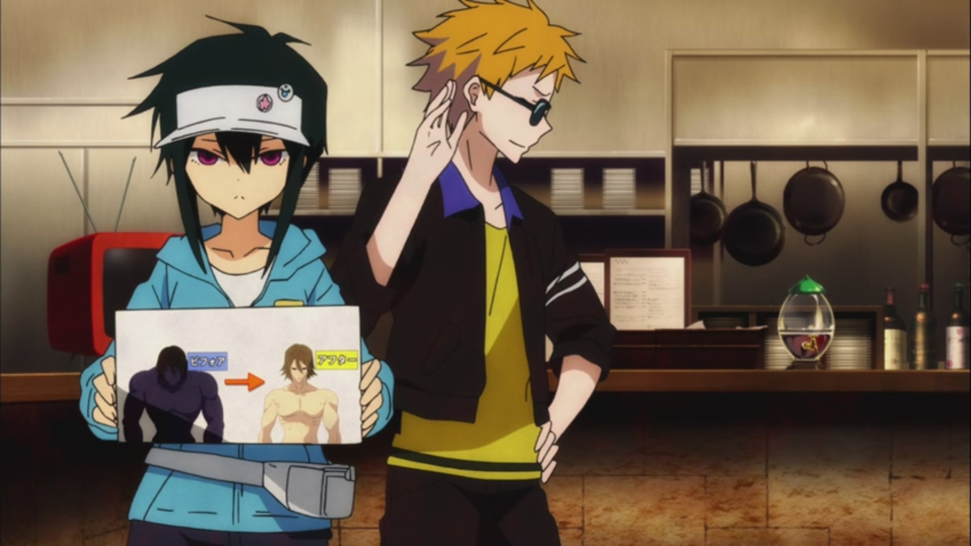 hamatora the animation � episode 10 luras anime blog