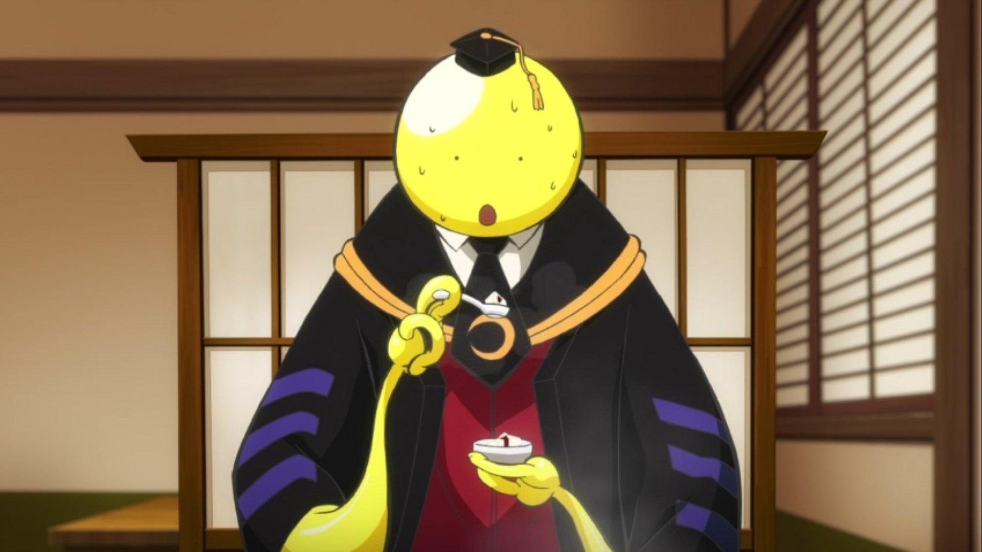 Assassination Classroom Episode 8 Lura S Anime Blog