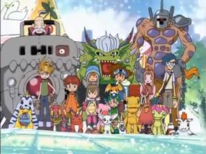 Blog 6th birthday - Digimon